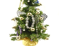 www.snowfall-beads.be - Inspiratie: Christmas Tree with Jewelry