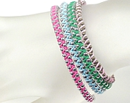 www.snowfall-beads.co.uk - Inspiration: Hippie bracelets