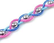 www.snowfall-perles.be - Inspiration: Bracelet Tressé