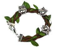 www.snowfall-beads.fr - Inspiration: Bracelet d'automne