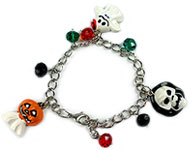 www.snowfall-beads.de - Inspiration: Halloween Armband