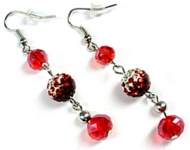 www.snowfall-beads.co.uk - Inspiration: Festive earrings