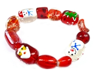 www.snowfall-beads.co.uk - Inspiration: Christmas bracelet