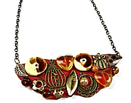 www.snowfall-beads.be - Inspiratie: Vintage ketting