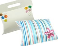 www.snowfall-beads.com - Inspiration: Decorated gift boxes