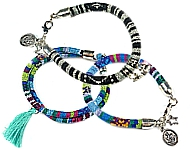 www.snowfall-beads.co.uk - Inspiration: Aztec bracelets