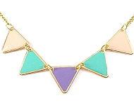 www.snowfall-beads.fr - Inspiration: Collier pastel
