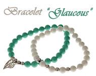 www.snowfall-beads.fr - Inspiration: Glaucous Bracelet