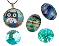 www.snowfall-beads.de - Spotlight: Klebsteine