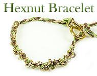 www.snowfall-beads.fr - Projet bijoux: Hexnut Bracelet
