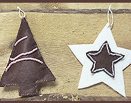 www.snowfall-beads.com - Jewelry project: Christmas Pendants