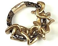 www.snowfall-beads.nl - Sieradenproject: Glamourous Bracelet