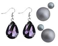 www.snowfall-beads.fr - Spotlight: Fashionable earrings