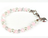 www.snowfall-beads.com - Jewelry project: Kids bracelet