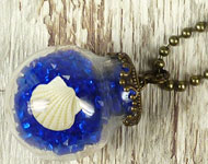 www.snowfall-beads.fr - Projet bijoux: Globe Necklace