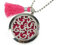 www.snowfall-beads.com - Jewelry project: Perfume Locket