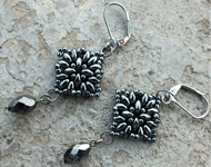 www.snowfall-beads.be - Inspiratie Project: Small Superduo Mandala