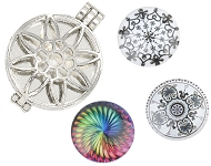 www.snowfall-beads.com - Mandala collection