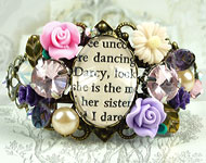www.snowfall-beads.com - Jewelry project: Vintage Bracelet
