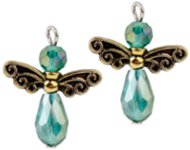 www.snowfall-beads.be - Sieradenproject: Angel Earrings