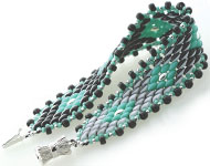 www.snowfall-beads.com - Jewelry project: Beadsmith's Color Shifting Bracelet