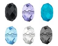 www.snowfall-beads.nl - Nieuw: SWAROVSKI ELEMENTS 5040 Briolette beads 8mm + 12mm