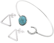 www.snowfall-beads.nl - Nieuwe ear jacket oorstekers en meer trendy sieraden
