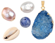 www.snowfall-beads.com - Spotlight: Natural beauties