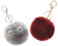 www.snowfall-beads.be - Fluffy sleutelhangers