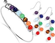 www.snowfall-beads.de - Neue satin Chokers, Rainbow Chakra Schmuck und mehr