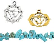 www.snowfall-beads.de - Neue Chakra-Accessoires und Naturstein Perlen