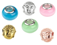 www.snowfall-beads.com - New large-hole-style and Buddha beads