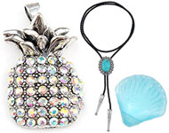 www.snowfall-beads.com - New bolo tie necklaces and more trendy articles