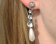 www.snowfall-beads.de - Schmuckprojekt: Dazzling Earrings