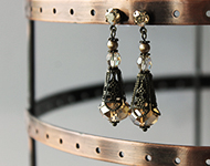 www.snowfall-beads.de - Schmuckprojekt: Filigree Earrings