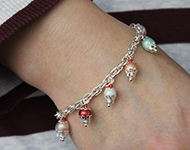 www.snowfall-beads.com - Jewelry Project: Cupcake Bracelet