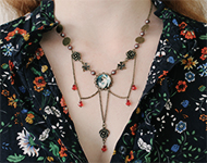 www.snowfall-beads.de - Schmuckprojekt: Angel Dream Necklace