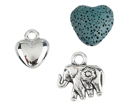 www.snowfall-beads.com - New heart-shaped articles and more