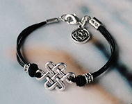 www.snowfall-beads.com - Jewelry Project: Celtic Bracelet