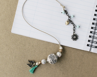 www.snowfall-beads.de - Schmuckprojekt: Book Charms
