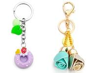 www.snowfall-beads.com - New cheerful key fobs