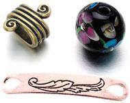 www.snowfall-beads.de - Neue Italian style Perlen und Münzenschmuck