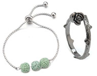 www.snowfall-beads.com - New anklets and rings