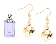 www.snowfall-beads.com - New glass bottles, earrings and necklaces