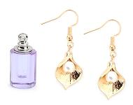 www.snowfall-beads.de - Neue Glasflaschen, Ohrringe und Halsketten