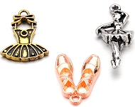 www.snowfall-perles.be - Nouveaux pendentifs de ballet et capteurs de rêves