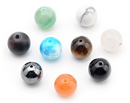 www.snowfall-beads.com - New colourful natural stone beads