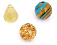 www.snowfall-beads.com - New glass and synthetic beads