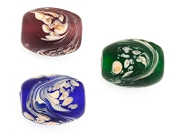 www.snowfall-beads.com - New oval Italian Style beads