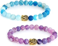 www.snowfall-beads.com - New bracelets with Agate beads